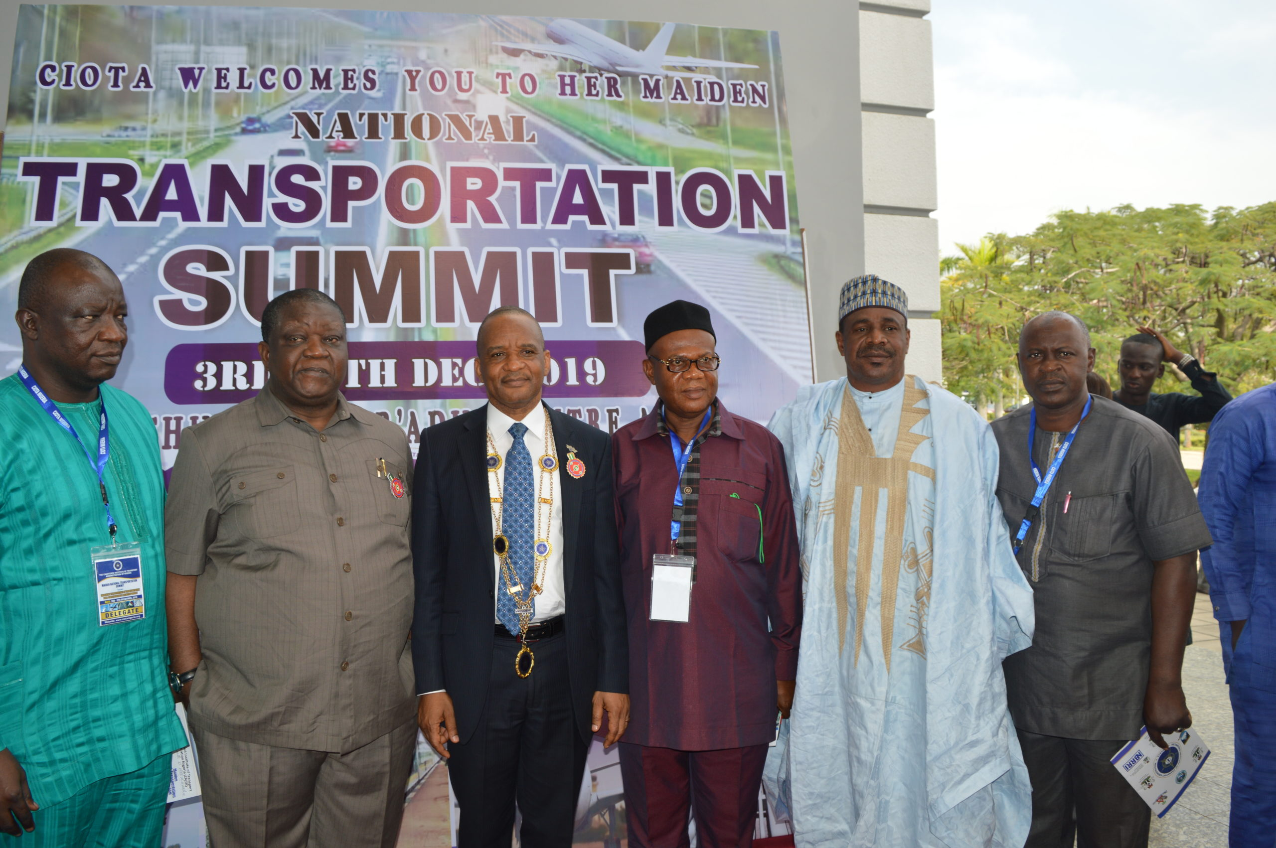 JAMOH LED CIOTA, HOLDS MAIDEN NATIONAL TRANSPORT SUMMIT
